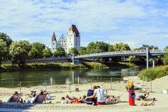 Ingolstadt, Germania Fotografia Stock Libera da Diritti