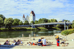 Ingolstadt, Germany. Royalty Free Stock Photo
