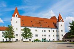 Ingolstadt slott. Armémuseum Arkivbild