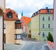 Ingolstadt.street Royalty Free Stock Photo
