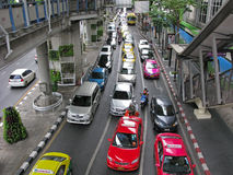 ingorghi stradali Immagine Stock