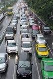 Ingorgo stradale Fotografia Stock Libera da Diritti