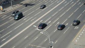 Ingorgo stradale nella città archivi video