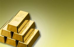 Ingot. Gold metal finance wealth growth business stock images