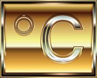 Ingot symbol illustration Stock Images