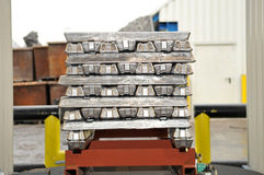 Ingots Stock Photo
