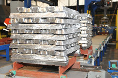 Ingots Royalty Free Stock Photo