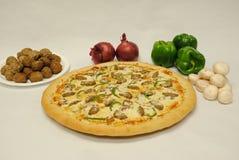 Ingrédient de pizza images stock