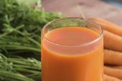 Ingrédient des carottes saines de nutrition, dans différents plats Photo stock