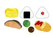 Ingrédient du déjeuner illustration de vecteur