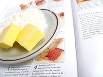 Ingrédients de boulangerie Photos stock