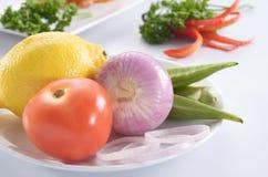 Ingrédients de nourriture Images libres de droits