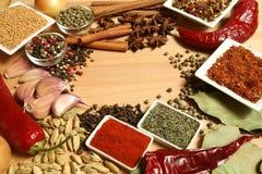 Ingrédients de nourriture Photo libre de droits