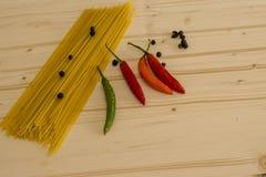 Ingrédients de nourriture Images stock