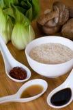 Ingrédients de nourriture asiatiques Photo libre de droits