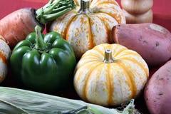 Ingrédients de nourriture d'automne Photographie stock