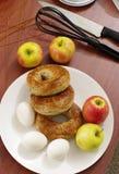 Ingrédients de nourriture de cuisine Photographie stock libre de droits
