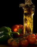Ingrédients de nourriture italiens Photo stock