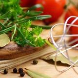 Ingrédients de nourriture sains images libres de droits