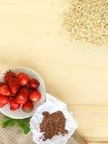 Ingrédients de petit déjeuner Images stock