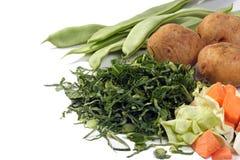 Ingrédients de potage Images stock