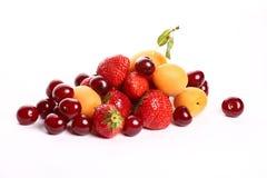 Ingrédients de salade de fruits d'été Images libres de droits