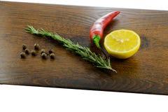 Ingrédients frais pour la cuisine familiale Photo stock