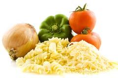 Ingrédients frais pour un bon repas images libres de droits