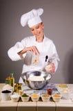Ingrédients multi de texture de pain de blé images stock