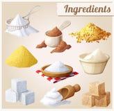 Ingrédients pour la cuisson Photo libre de droits