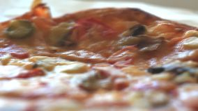 Ingrédients pour la pizza banque de vidéos