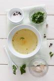 Ingrédients pour une marinade photos stock