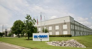 Ingram Micro Computer Technologies, Millington, TN. Ingram Micro is a wholesaler of IT products and services. It sells products and services only to IT resellers Stock Photos
