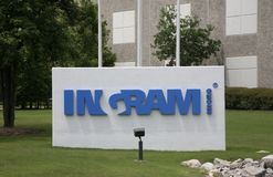 Ingram Micro Sign, Millington, TN Stockfoto
