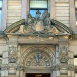 Ingram ulica, Glasgow, Szkocja, Wiktoriańska architektura Obrazy Stock