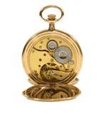 Ingranaggi d'annata dell'orologio da tasca Fotografia Stock Libera da Diritti