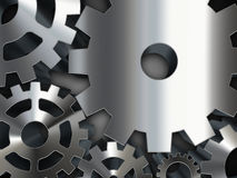 Ingranaggi del metallo Immagine Stock Libera da Diritti