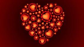 Ingranaggi di giorno di S. Valentino video d archivio
