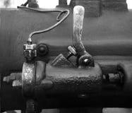 Ingranaggi di vecchio robot fotografia stock libera da diritti