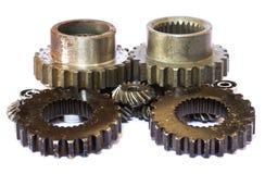 Ingranaggi industriali del metallo Immagini Stock