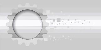 Ingranaggi a macchina di tecnologia retro bacground del meccanismo della ruota dentata Immagine Stock Libera da Diritti