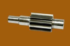 Ingranaggio cilindrico arrugginito Fotografia Stock