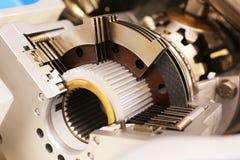 Ingranaggio del metallo Fotografie Stock