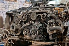 Ingranaggio dell'automobile Fotografia Stock