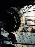 Ingranaggio della bicicletta Fotografie Stock