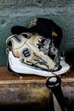 Ingranaggio di baseball Fotografia Stock