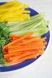 Ingrédients asiatiques de salade Images stock