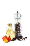Ingrédients pour la cuisson Images stock