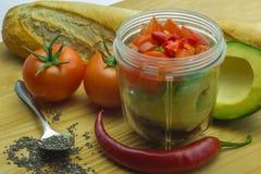 Ingrediënt-Salsa-10 Stock Foto's