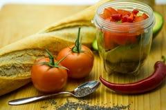 Ingrediënt-Salsa-12 Royalty-vrije Stock Foto